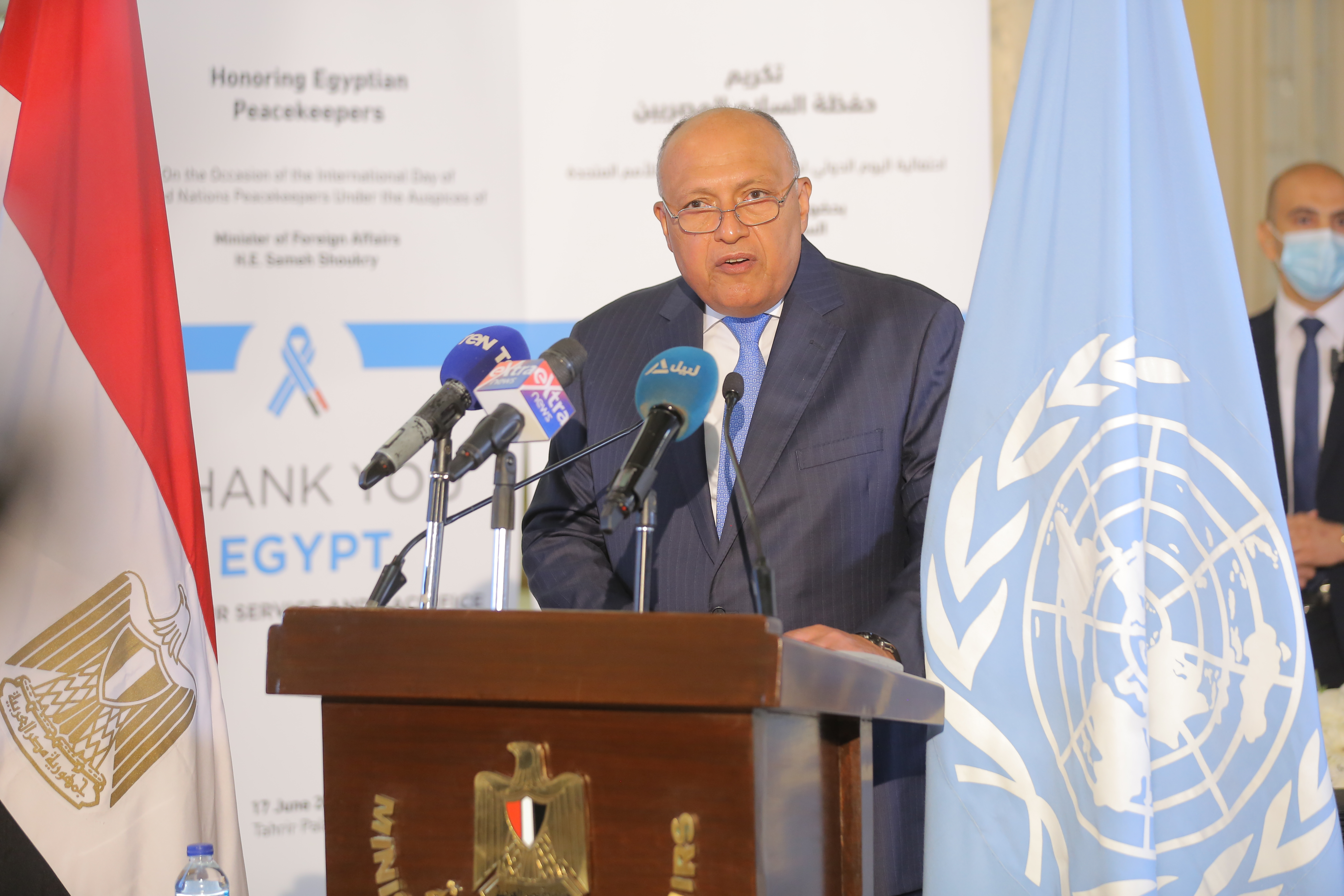 UN Peacekeepers service and sacrifice hailed in Egypt