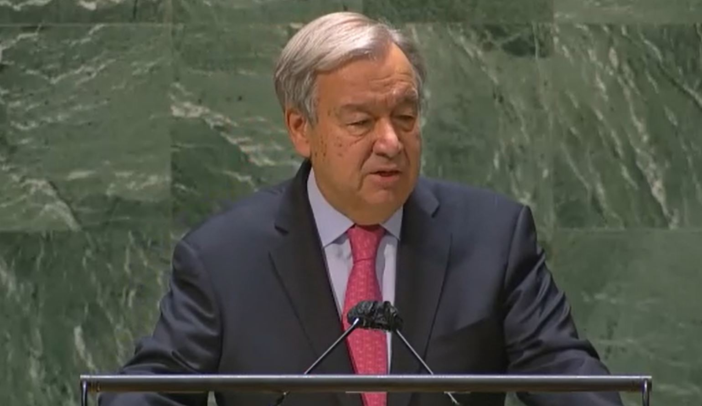 الأمين العام يطالب زعماء العالم بإجراءات لاستعادة الثقة وبث الأمل