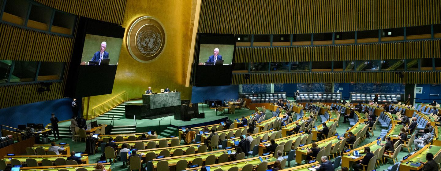 إنهاء الجائحة ومعالجة أزمة المناخ وتسريع تحقيق الأهداف العالمية.. أبرز أولويات الأسبوع رفيع المستوى للجمعية العامة